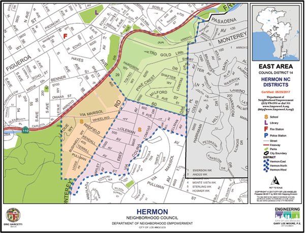 Hermon Neighborhood Council Map